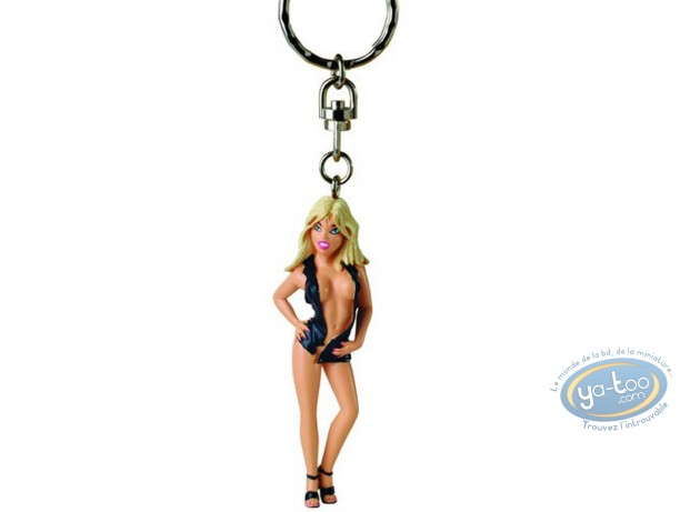 PVC Keyring, Pin-Up : Key ring, Dany lutine