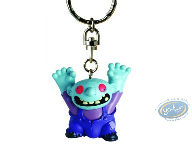 PVC Keyring, Petit Vampire : Key ring, Little Vampire : Marguerite
