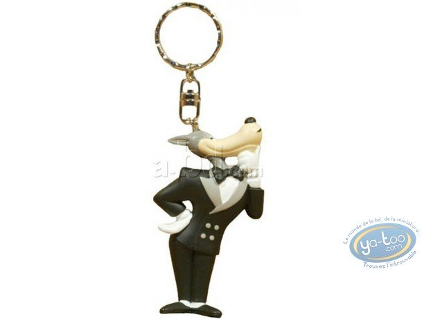 PVC Keyring, Loup (Le) : Key ring, Tex Avery : The Wolf
