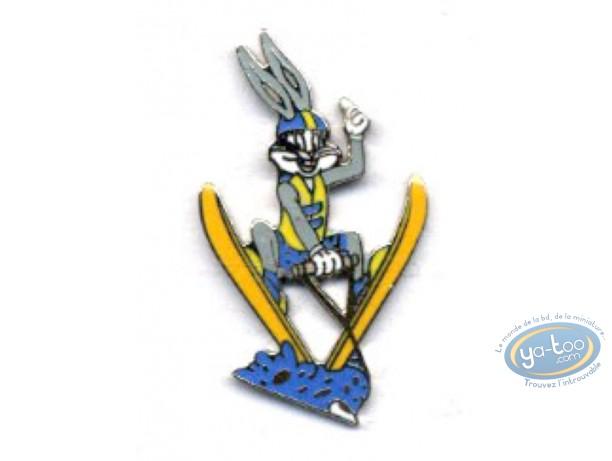 Pin's, Bugs Bunny : Bug Bunny skis