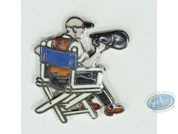 Pin's, Director on chair (Small size)