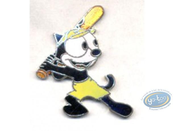 Pin's, Félix le Chat : Felix the Cat baseball bat