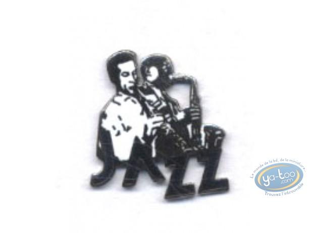 Pin's, Saxophonist 'Jazz'