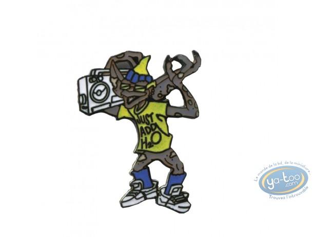 Pin's, Gremlins : Gremlins radio