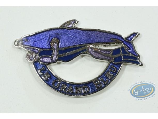 Pin's, 'Le Grand Bleu' - dolphin