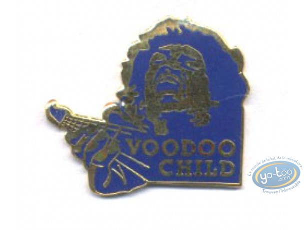Pin's, Jimi Hendrix 'Voodoo Child'