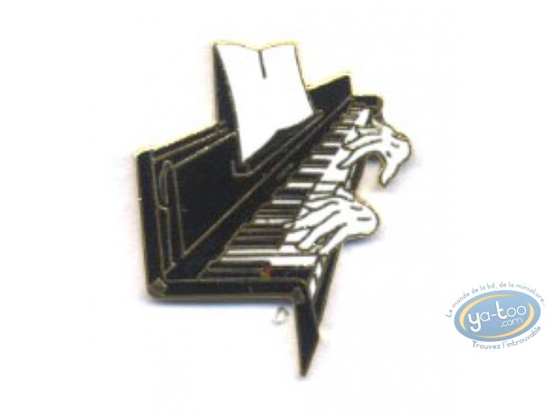 Pin's, Piano + hands