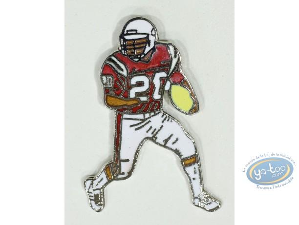 Pin's, American football