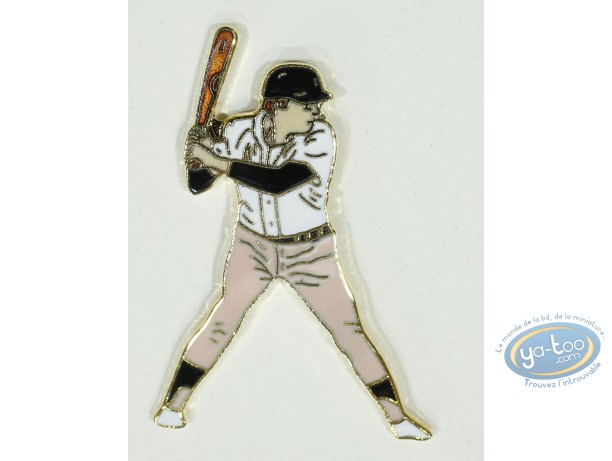 Pin's, Baseball player