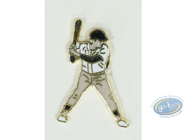 Pin's, Baseballeur (Small size)