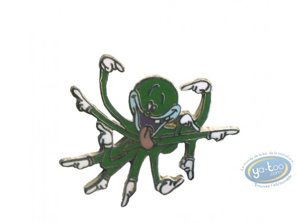 Pin's, Tex Avery : Octopus - Tex Avery