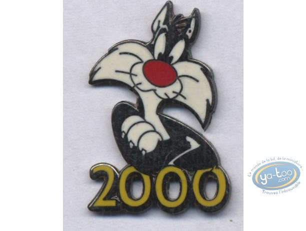 Pin's, Titi : Pin's, Sylvester year 2000