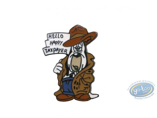Pin's, Tex Avery : Droopy Hello happy taxpayer - Tex Avery