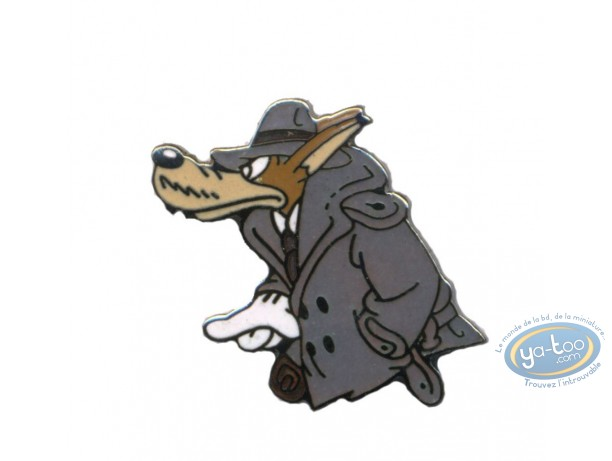 Pin's, Tex Avery : The wolf detective - Tex Avery