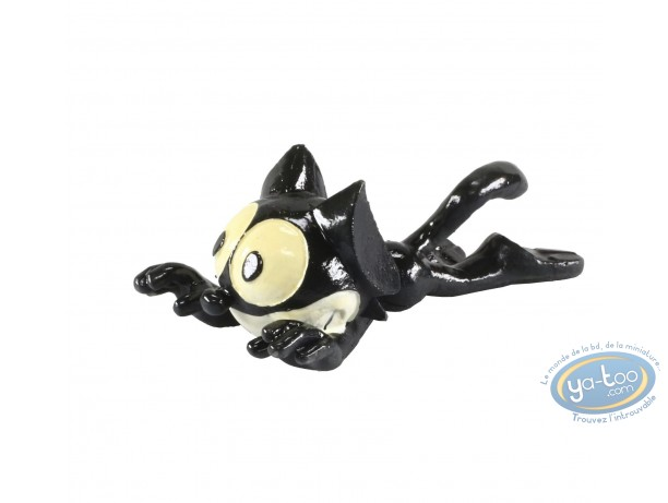 Metal Figurine, Félix le Chat : Felix the Cat lying