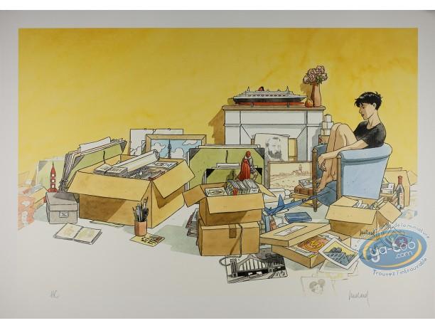 Offset Print, Cahier Bleu (Le) : Boxes & Souvenirs
