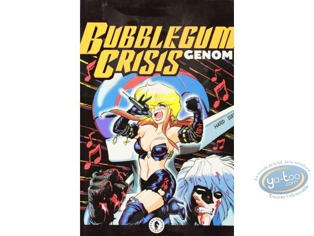 Used European Comic Books, Bubblegum crisis : Genom