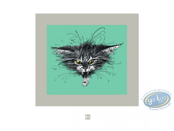 Offset Print, Cat (numbered)