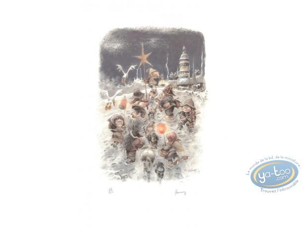 Offset Print, Christmas
