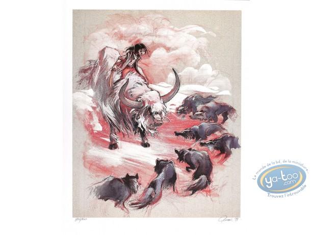 Offset Print, Soleil des Loups (Le) : Buffalo