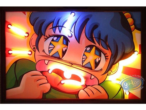 Deco, Lighted canvas, Manga Smile