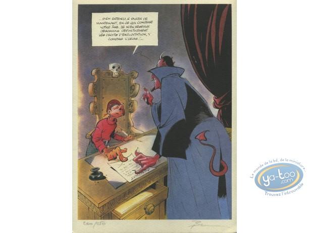 Bookplate Offset, Mic Mac Adam : Devil's Contract