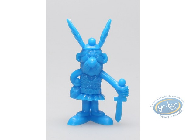 Plastic Figurine, Astérix : Mini Asterix sword at hand to the floor (blue)