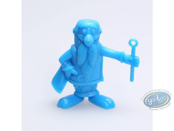 Plastic Figurine, Astérix : Mini Getafix (blue)