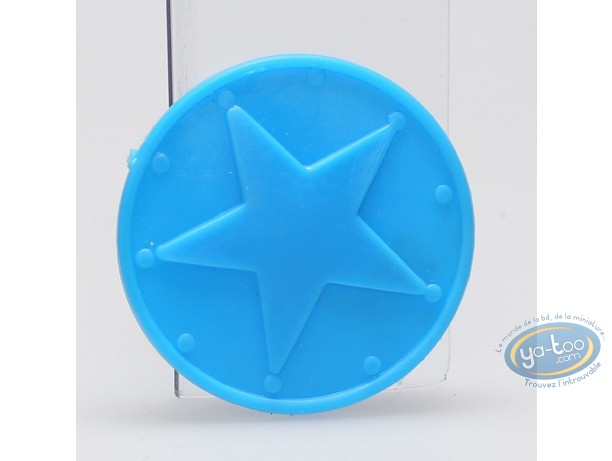 Plastic Figurine, Astérix : Mini Bulwark (blue)