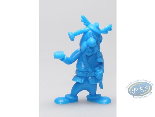Plastic Figurine, Astérix : Mini Bulwark Holder (helmet with wings / blue)