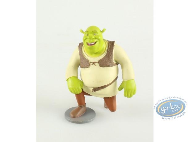 Plastic Figurine, Shrek : Shrek kneeling