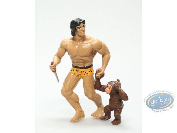 Plastic Figurine, Tarzan : Tarzan and Cheetah