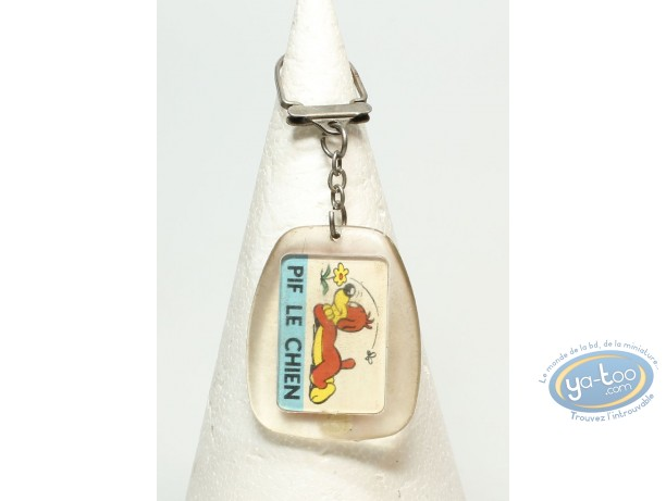 Keyring, Key ring advertising Pif the dog