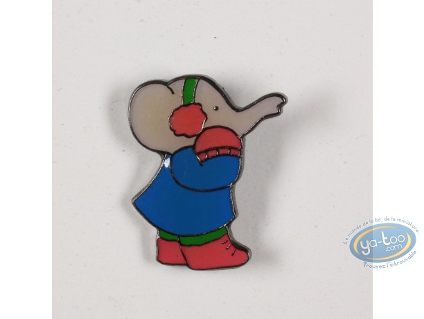 Pin's, Babar : Babar in the winter sports, Céleste