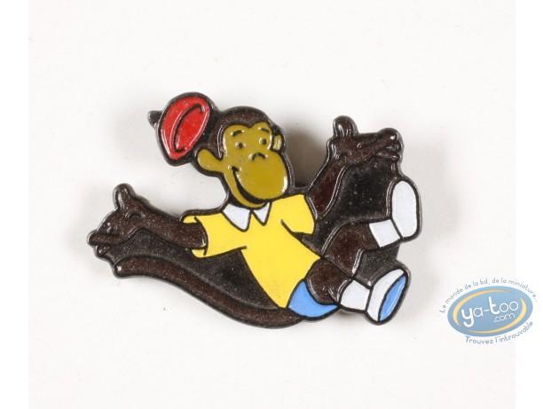 Pin's, Babar : Babar, Zephyr jumps for joy!