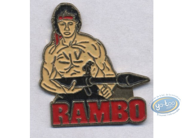 Pin's, Rambo : Pin's, Rambo