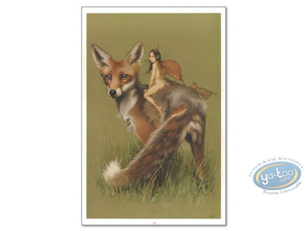 Offset Print, Féerie : Elf on fox