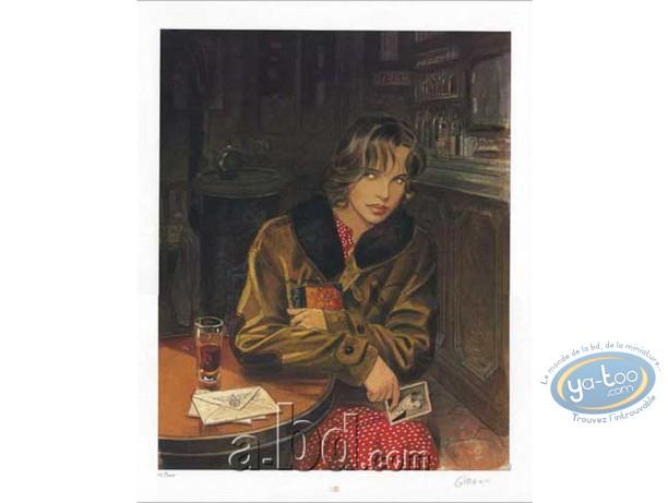 Offset Print, Sursis (Le) : Cecile at the coffee shop