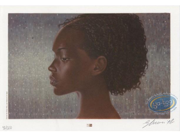 Bookplate Offset, Deux Vies : Woman's portrait