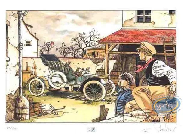 Bookplate Offset, Fabien M : Car