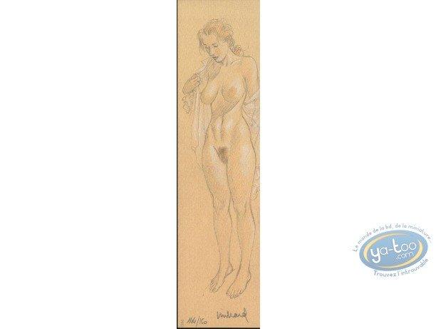 Offset Bookmark, Nu Canson (signed)