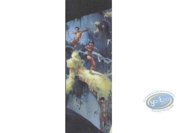 Offset Bookmark, Terre Sans Mal (La) : 3 Indians