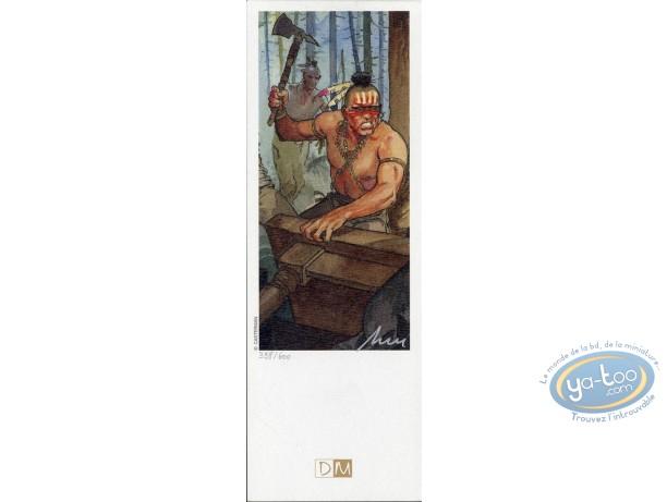 Offset Bookmark, Eté Indien (L') : Indian & Axe