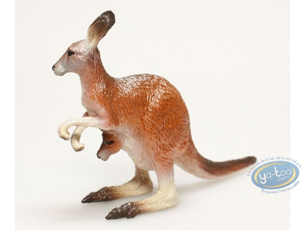Plastic Figurine, Animaux : Kangaroo