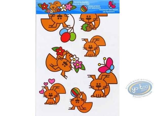 Toy, Spip : Spip : Stickers