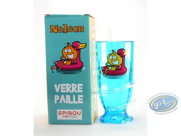 Toy, Nelson : Nelson : Glass + straw