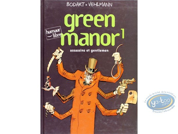 Listed European Comic Books, Green Manor : Green Manor