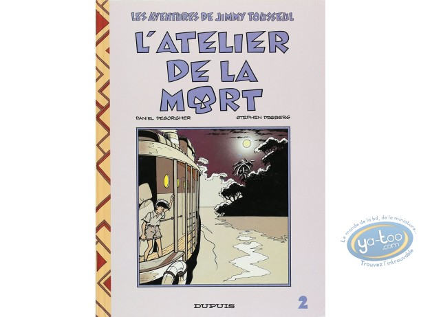 Listed European Comic Books, Jimmy Tousseul : L'atelier de la mort (état moyen)