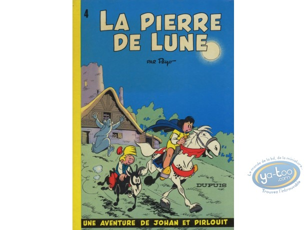 Listed European Comic Books, Johan et Pirlouit : La Pierre de Lune (good condition)