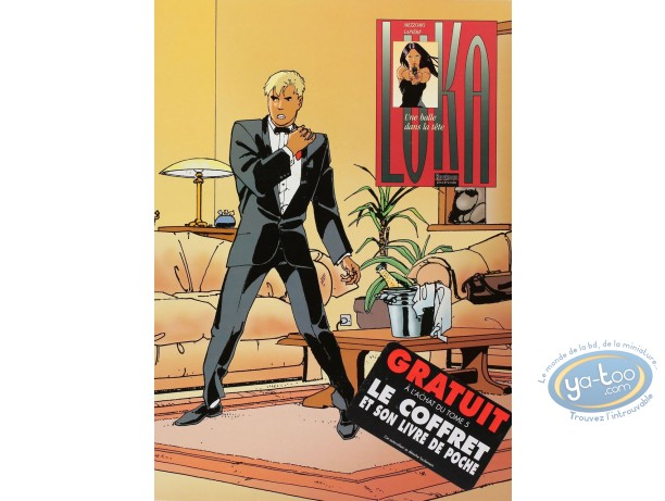 Listed European Comic Books, Luka : Une balle dans la tete